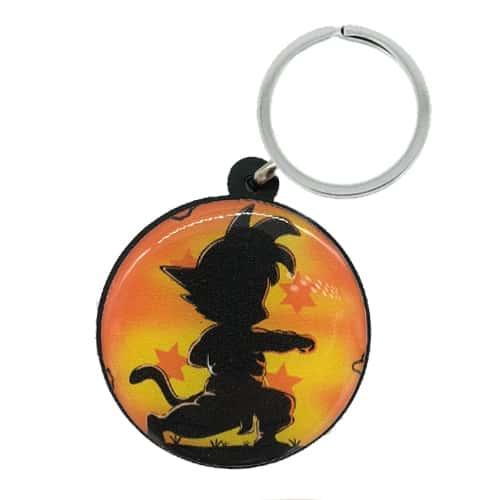 Chaveiro Personalizado Resinado Goku