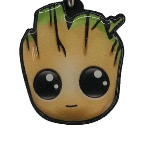 Chaveiro Personalizado Resinado Groot