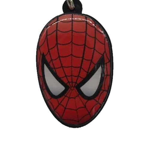 Chaveiro Personalizado Resinado Homem Aranha