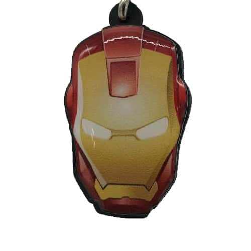 Chaveiro Personalizado Resinado Homem De Ferro