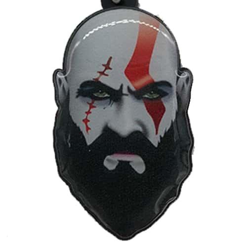 Chaveiro Personalizado Resinado Kratos