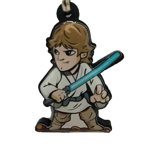 Chaveiro Personalizado Resinado Luke