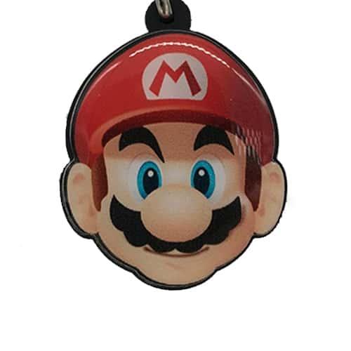 Chaveiro Personalizado Resinado Mario