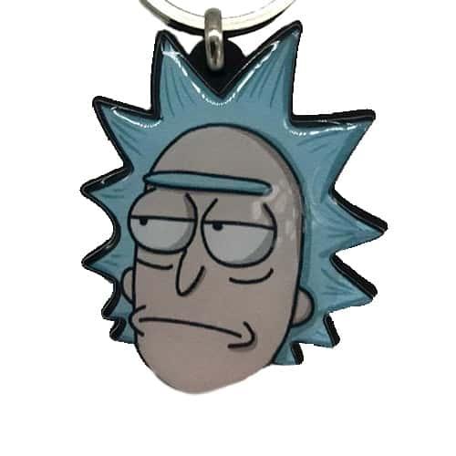 Chaveiro Personalizado Resinado Rick