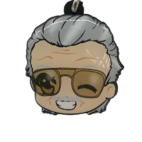 Chaveiro Personalizado Resinado Stan Lee