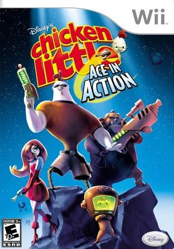 Chicken Little: Ace In Action (Seminovo) - Wii