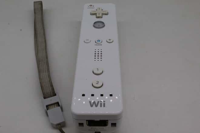 Controle Wii Remote Branco (Seminovo)