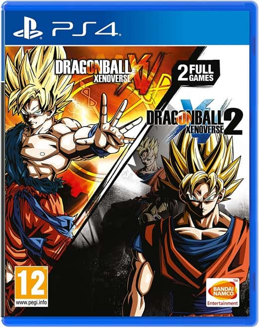 Dragon Ball Xenoverse + Dragon Ball Xenoverse 2 (Double Pack) - PS4