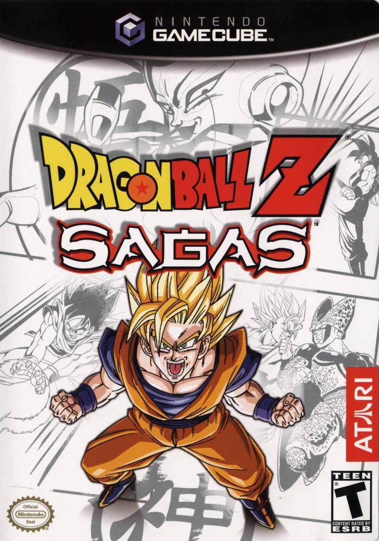 Dragon Ball Z: Sagas (Seminovo) - Gamecube