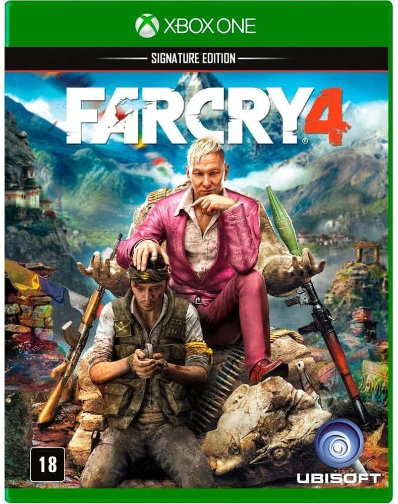 Far Cry 4 (Seminovo) - Xbox One