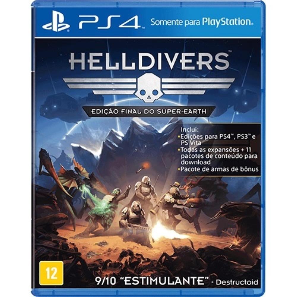 Helldivers (Seminovo) - PS4