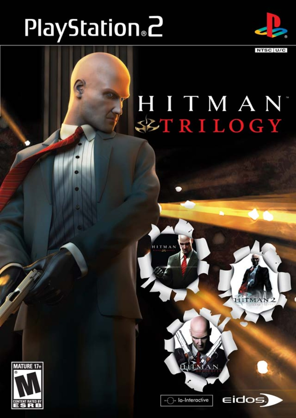 Hitman Trilogy (Seminovo) - PS2