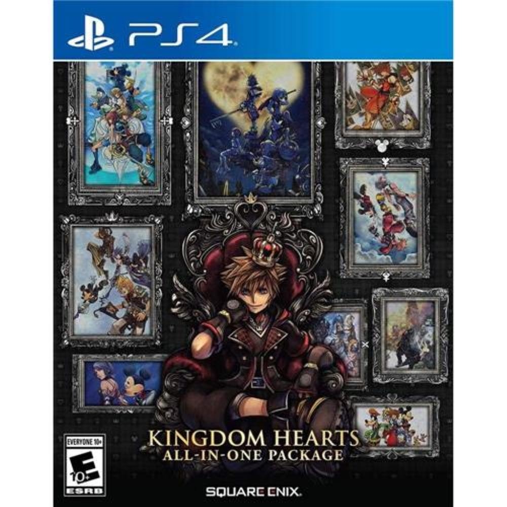 Kingdom Hearts All-In-One Package (Seminovo) - Ps4