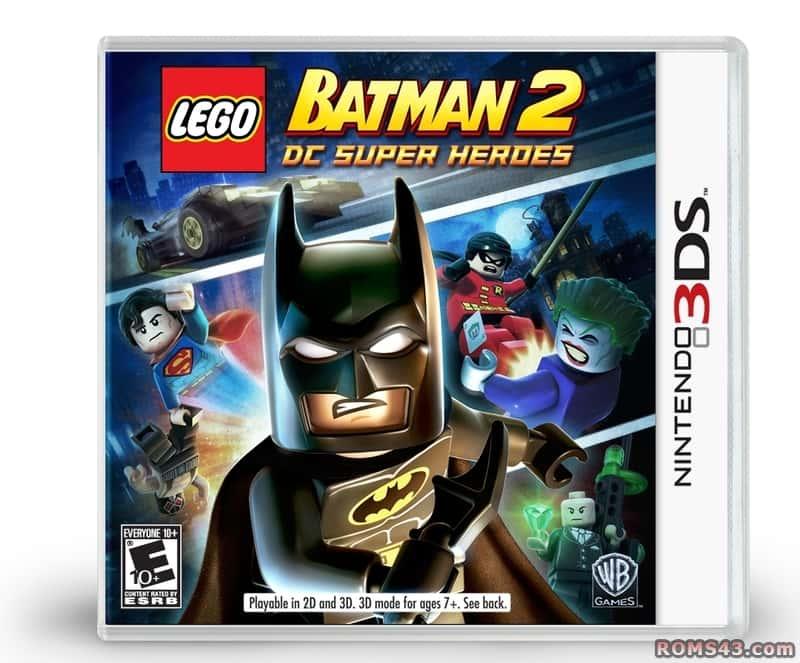 LEGO Batman 2 Dc Super Heroes (Seminovo) - 3Ds