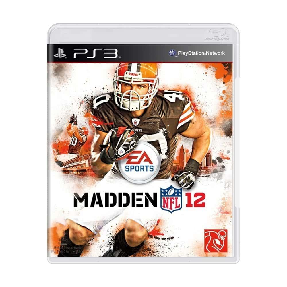 Madden NFL 12 (Sem caixa) (Seminovo) - PS3