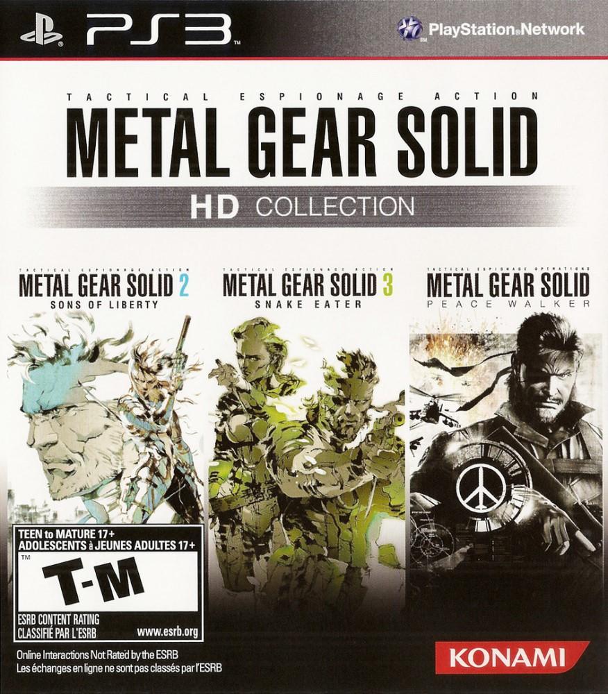 Metal Gear Solid HD Collection (Seminovo) - PS3