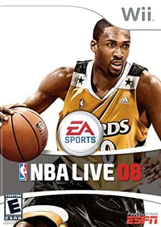 NBA Live 08 (Seminovo) - Wii