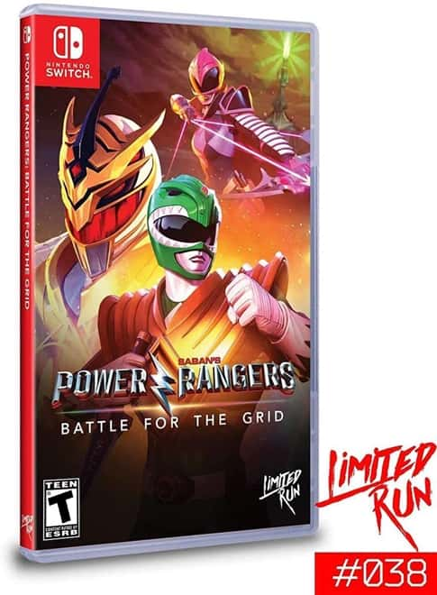 Power Rangers: Battle for the Grid - Switch