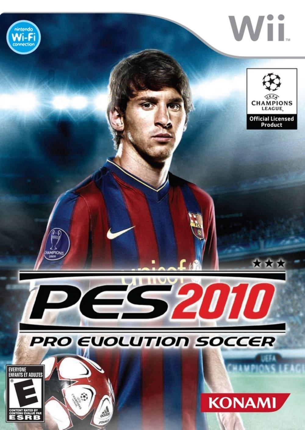 Pro Evolution Soccer (PES) 2010 (Seminovo) - Wii
