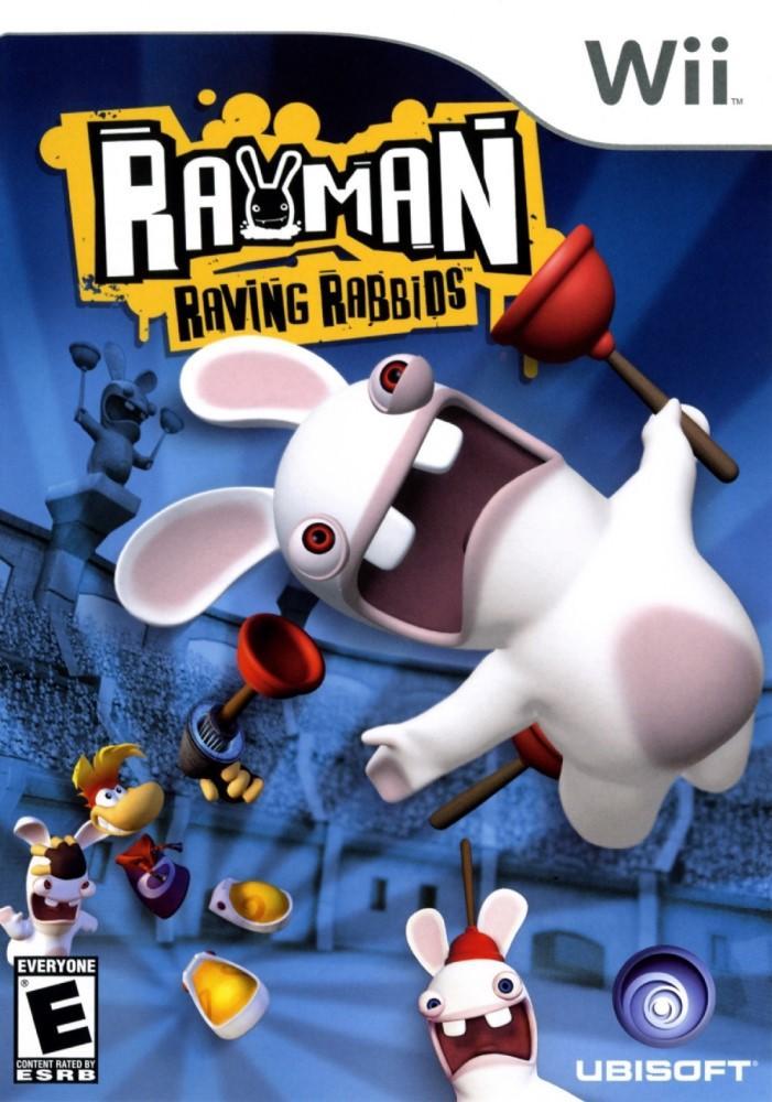 Rayman Raving Rabbids (Seminovo) - Wii