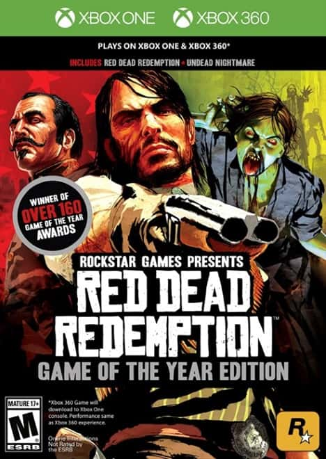 Red Dead Redemption Game of the Year Edition - Xbox 360 & Xbox One