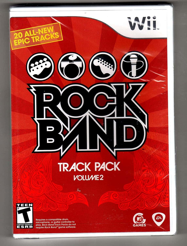 Rock Band Track Pack Volume 2 (Seminovo) - Wii