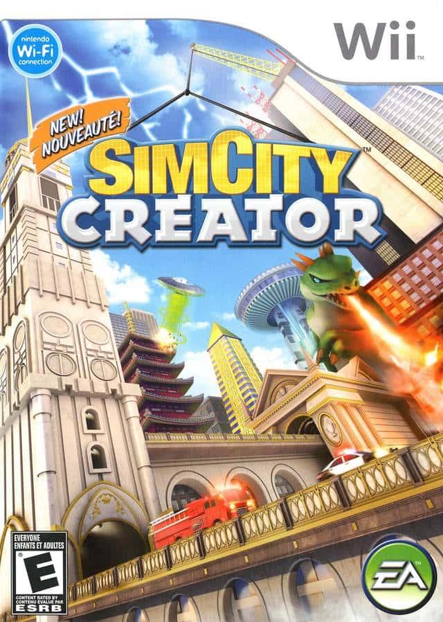 SimCity Creator (Seminovo) - Wii