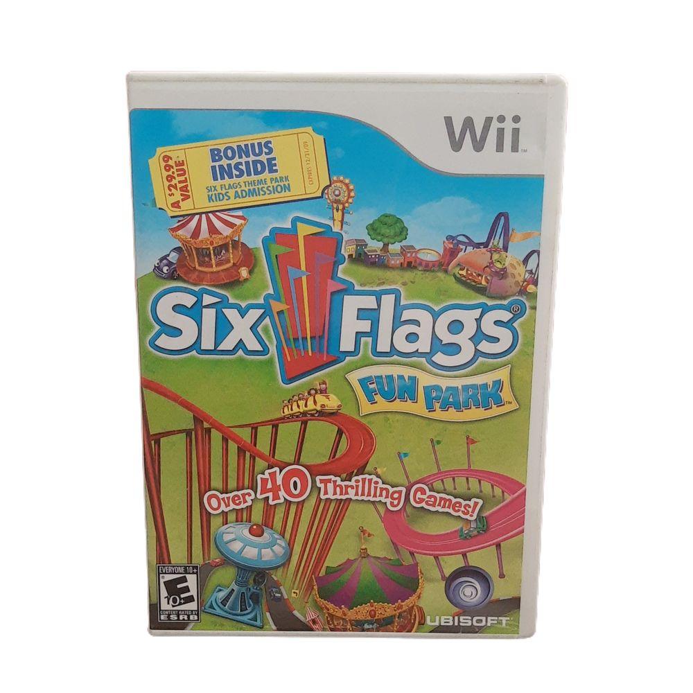 Six Flags Fun Park (Seminovo) - Wii