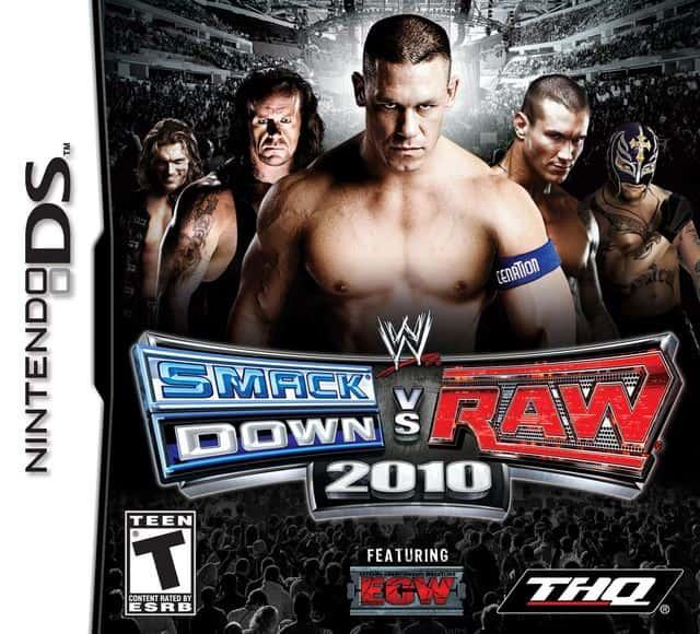 Smackdown vs Raw 2010 (Sem caixa) (Seminovo) - NDs