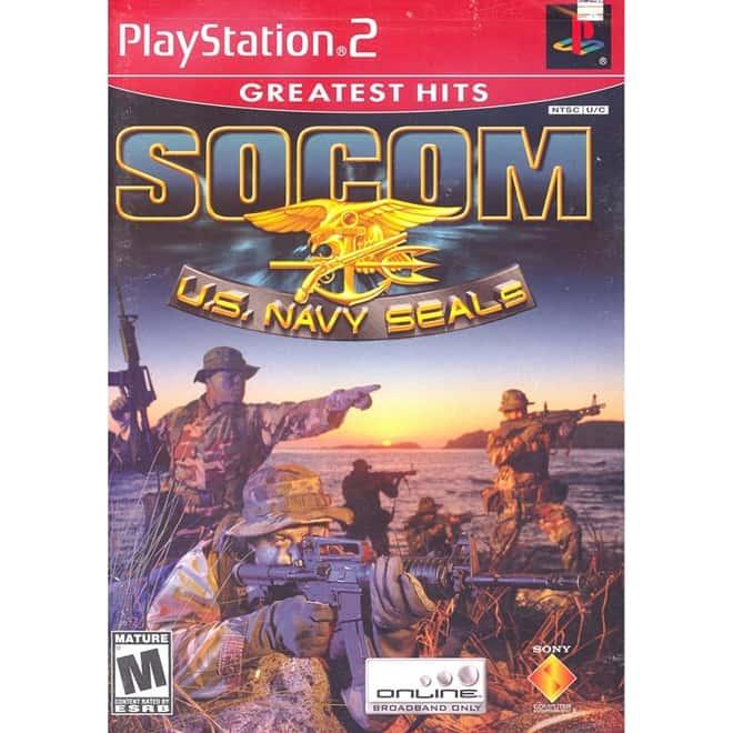 SOCOM U.S. Navy Seals Greatest Hits (Seminovo) - PS2