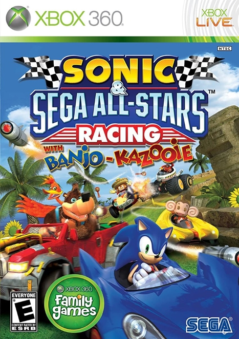 Sonic & Sega All Stars Racing With Banjo Kazooie - Xbox 360