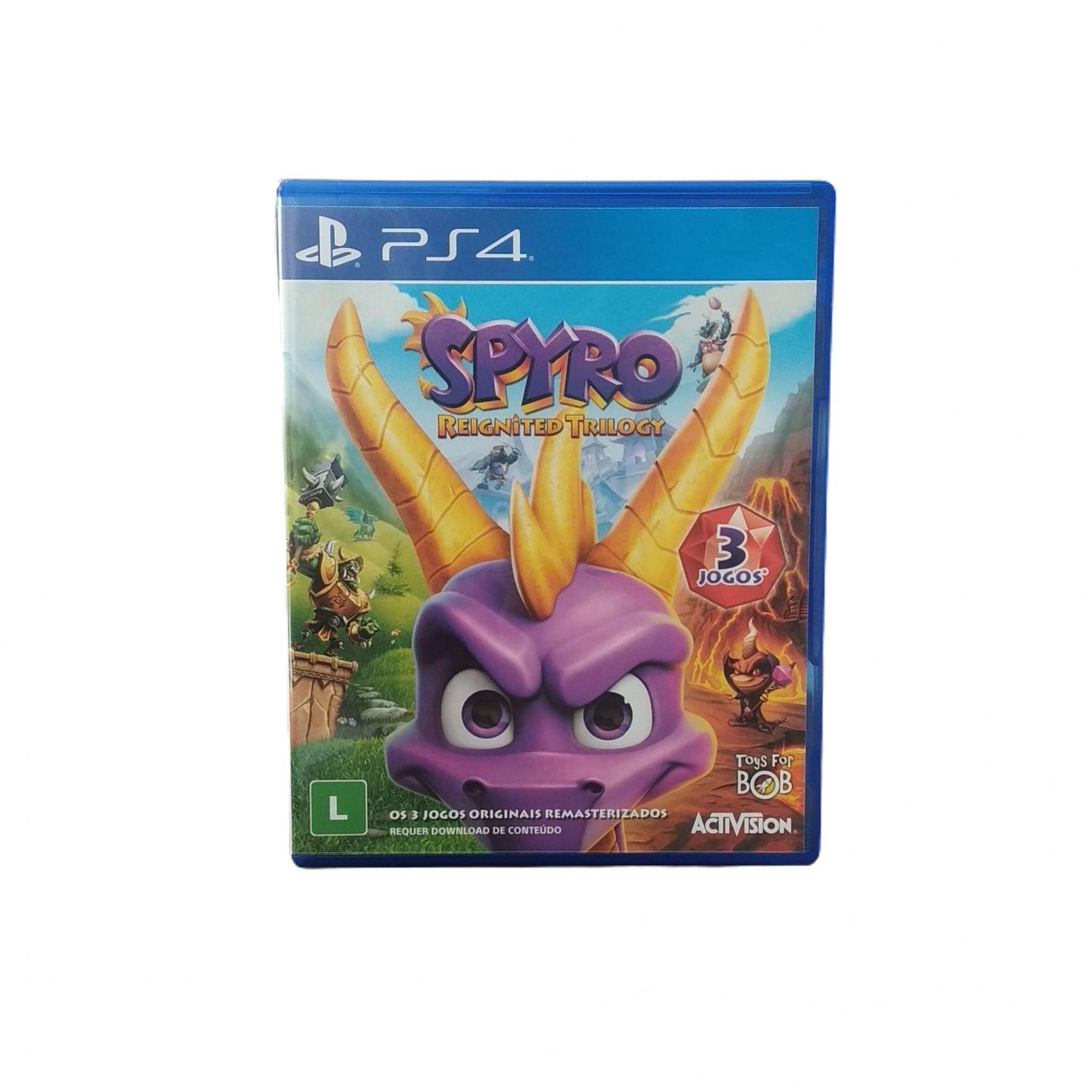 Spyro Reignited Trilogy (Seminovo) - PS4