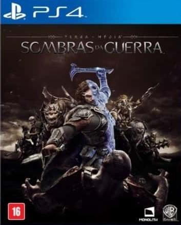 Terra Média Sombras da Guerra (Seminovo) - PS4