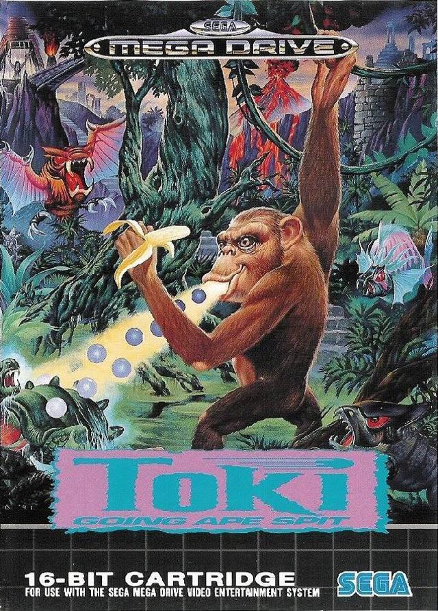 Toki: Going Age Spit (Seminovo) - Mega Drive
