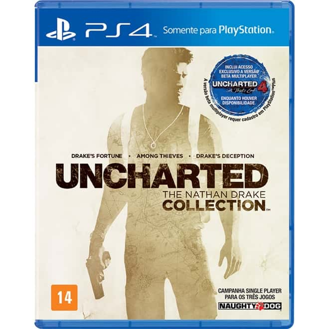 Uncharted The Nathan Drake Collection (Seminovo) - PS4