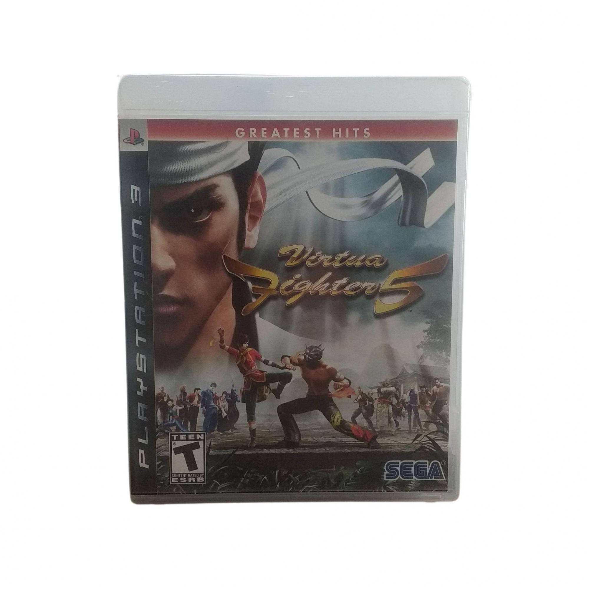 Virtua Fighter 5 Greatest Hits (Seminovo) - Ps3