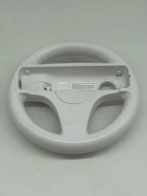 Volante Nintendo Wii Branco (Seminovo)