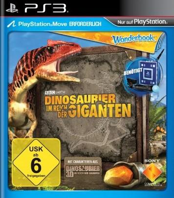 Wonderbook: Dinosauries - Im Reich der Giganten (Seminovo) - PS3