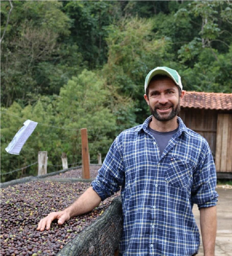 Café do Fábio, café agroecológico levemente frutado com notas de chocolate - (250g)