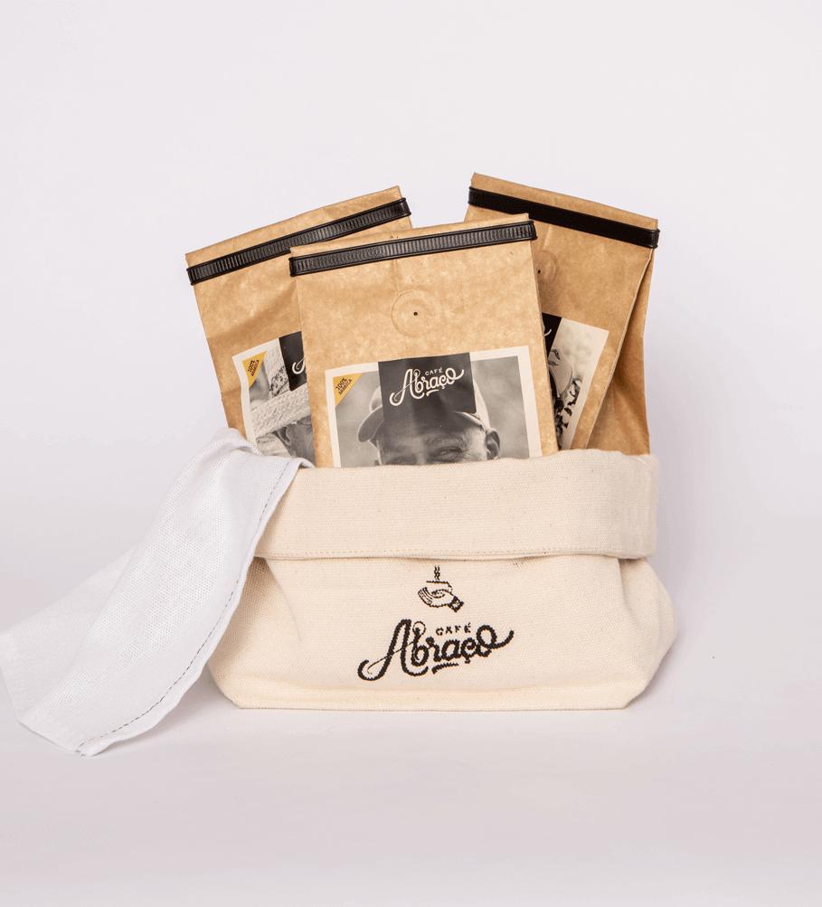 Kit Mesa - três cafés