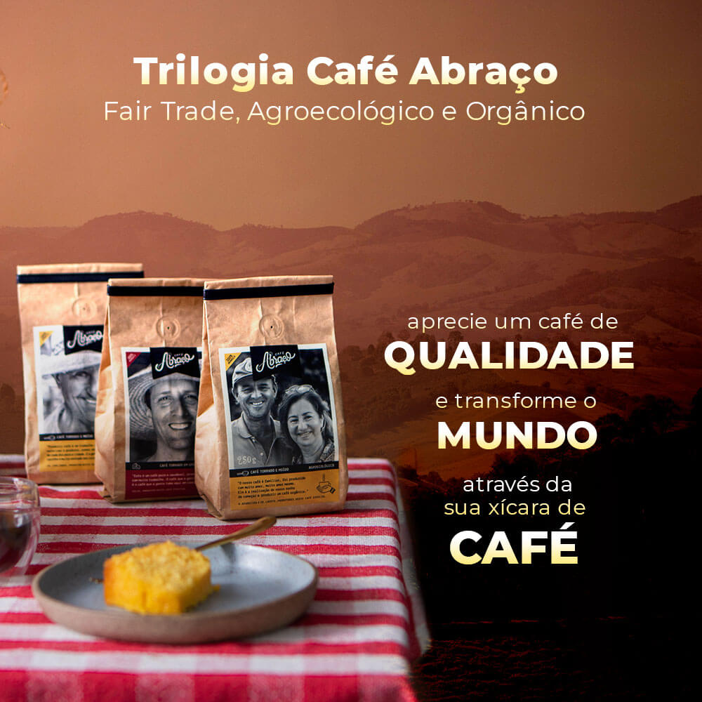 Kit Trilogia Café Abraço