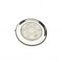Luminária de Cabine Bicolor LED 12V Corpo Aço Inox 304 (Branco e vermelho no centro)
