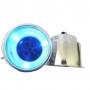 Porta Copo Iluminado Corpo em Alumínio Prata (Iluminação em LED)