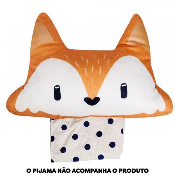 Almofada Porta Pijama Floresta
