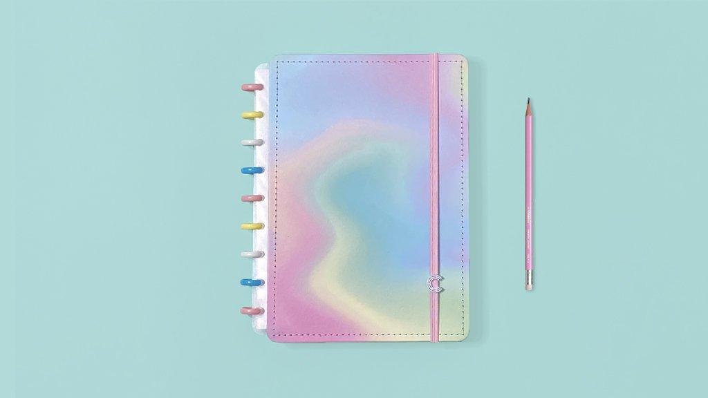 Caderno Inteligente M Candy Splash
