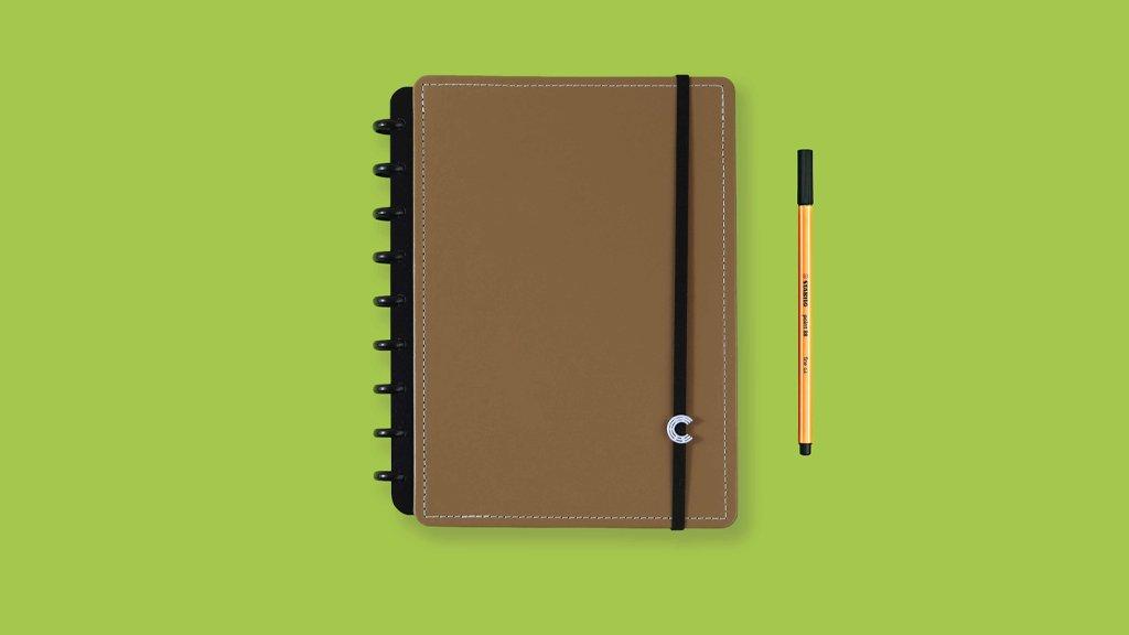 Caderno Inteligente M Caramel