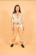 Jaqueta Metalizada Dourada