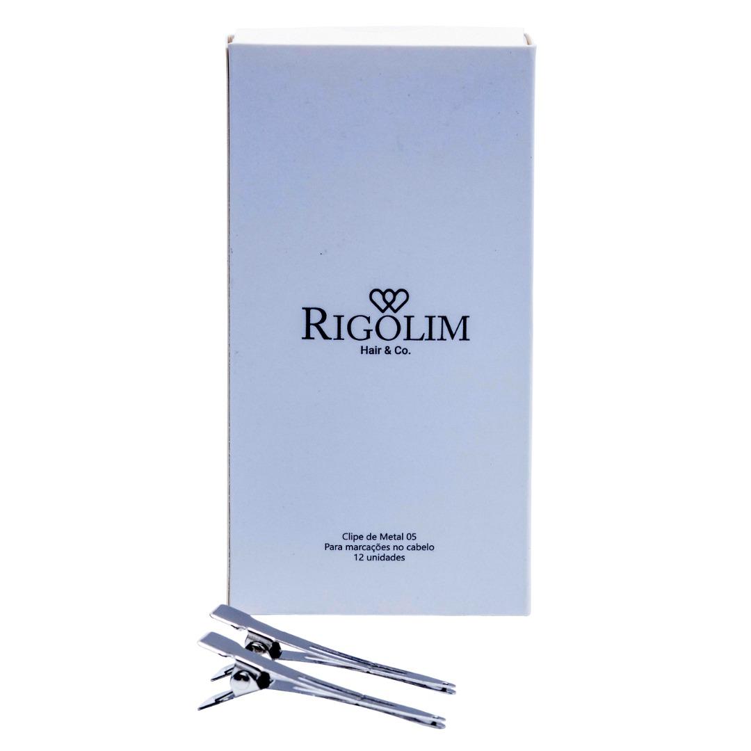 CLIPE DE METAL Nº05 - RIGOLIM HAIR & CO 12un