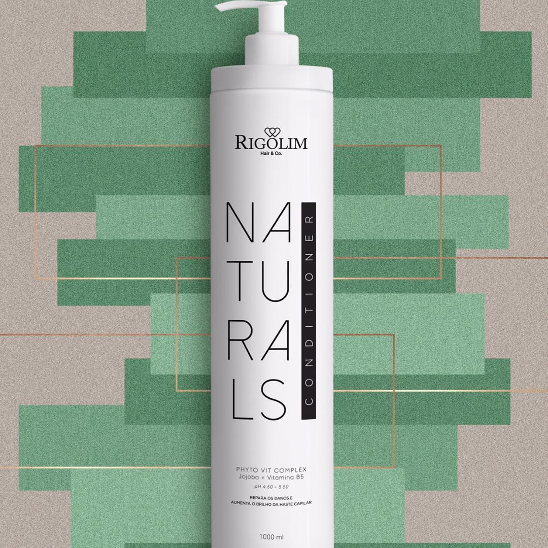 CONDICIONADOR NATURALS - RIGOLIM HAIR & CO 1L