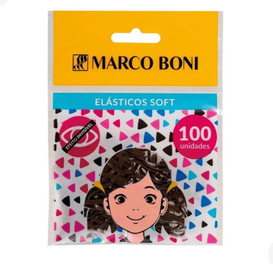 ELÁSTICO - MARCO BONI SOFT MARROM 100 UN (REF 8263)